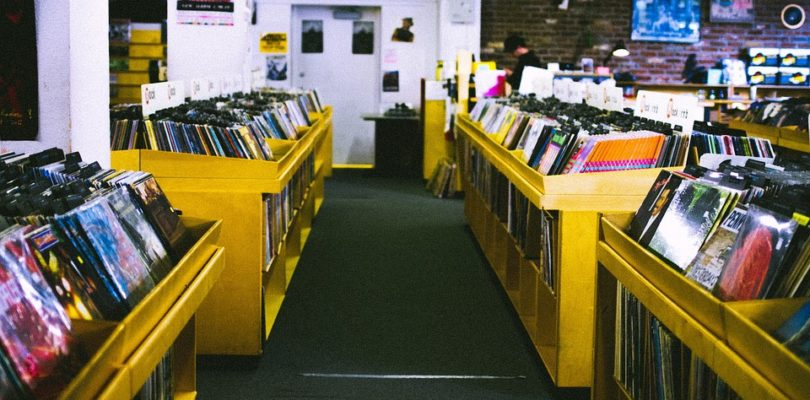 """Record Store - Vinyl is not a """"Sham"""""""