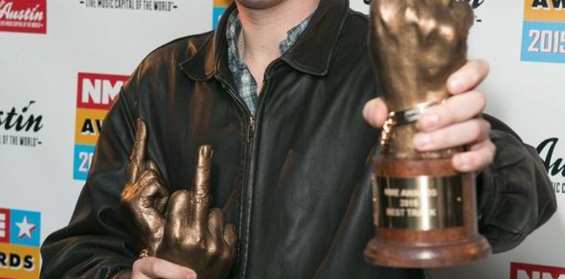 NME Awards 2015 with Austin, Texas