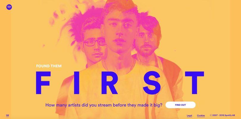 Spotify – Found Them First