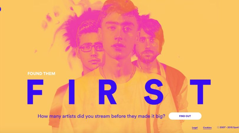Spotify – Found Them First