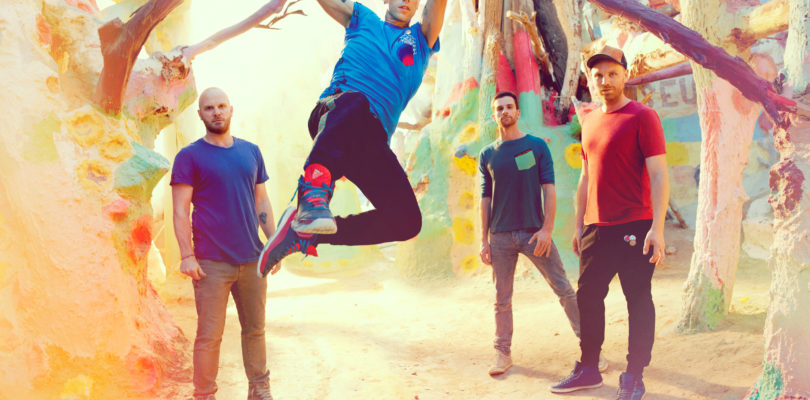 Coldplay release Kaleidoscope EP